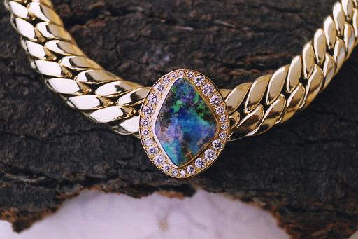 Opal-Collier